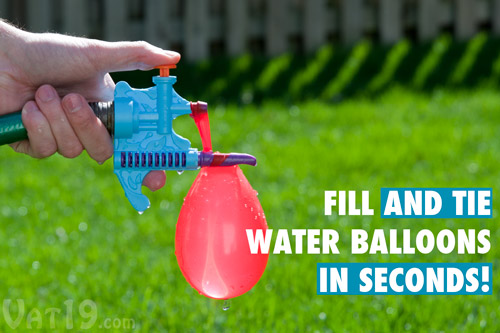 Never Tie a Water Balloon Again