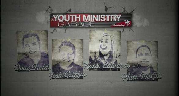 Youth Ministry Garage Debuts Today