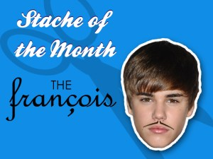 Stache of the Month Beiber