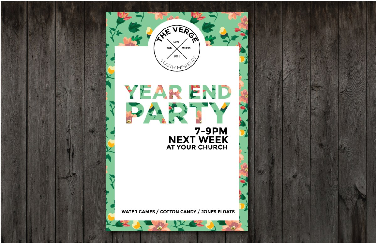 Calendar Year End : Free item of the week epic year end poster youth