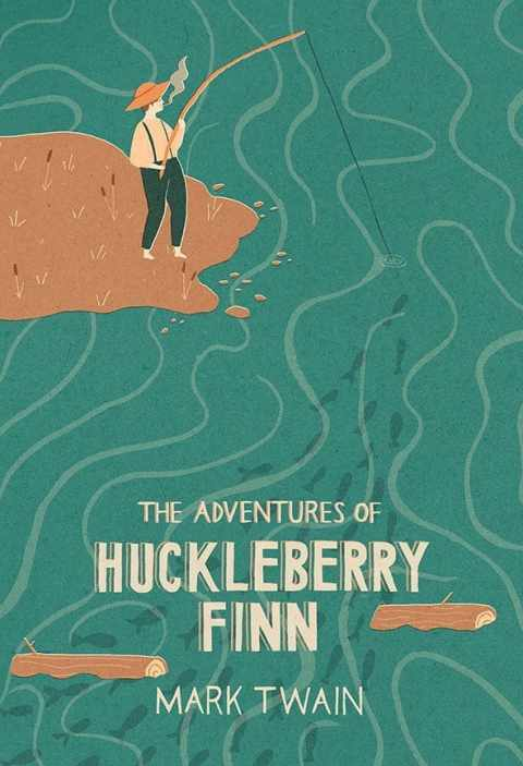 What is the best way to describe the tone in Huckleberry Finn?