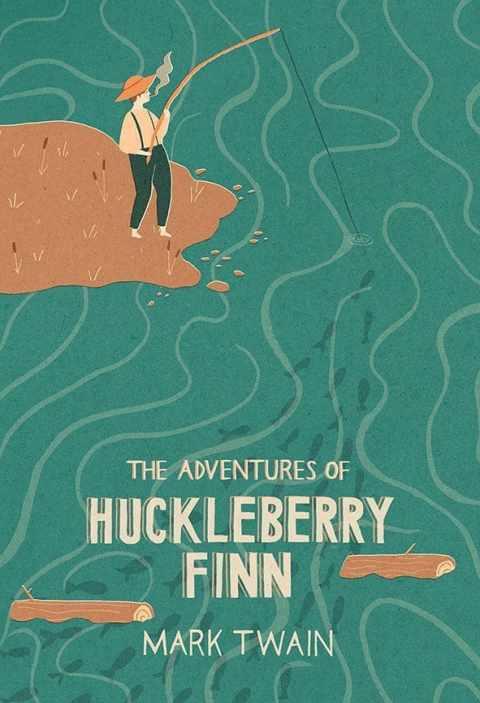 Twain publishes The Adventures of Huckleberry Finn