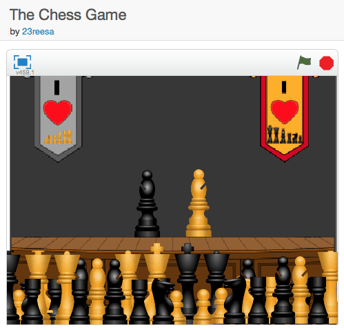 """The Chess Game"" A New and Exciting Scratch Animation!"