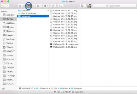8Afficher l'arborescence de vos dossiers sur Mac