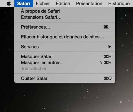 Quitter une application Mac 3