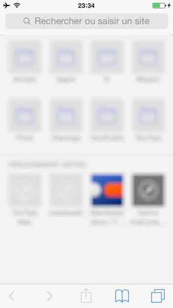Comment faire une recherche internet sur plusieurs pages sur l'iphone2
