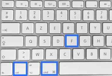 Le mode plein cran sur mac for Mac fenetre hors ecran