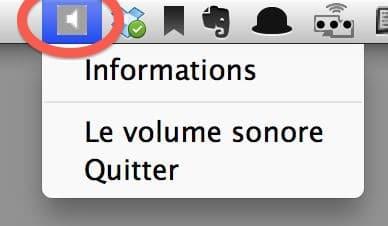 couper le volume du mac.1b