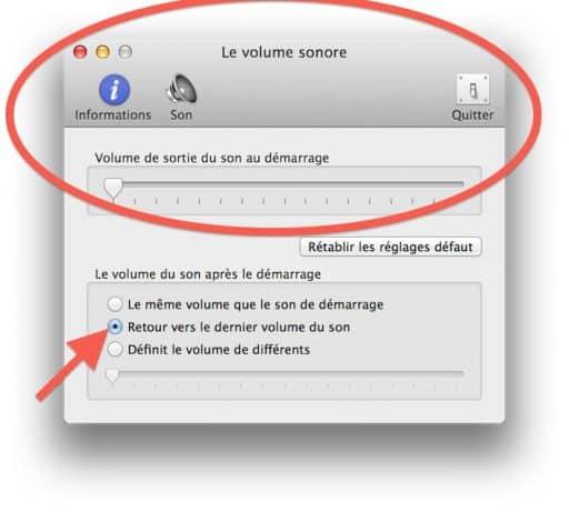 couper le volume du mac.2