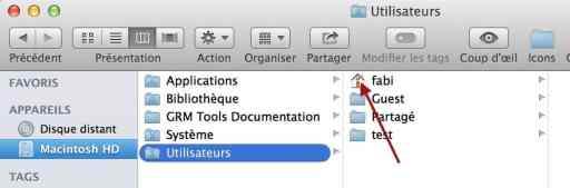 Dossier maison OS X