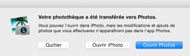 Apple abandonne iPhoto et Aperture3