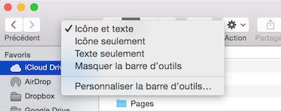 Clic droit finder mac