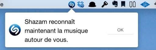 Shazam est disponible sur Mac2