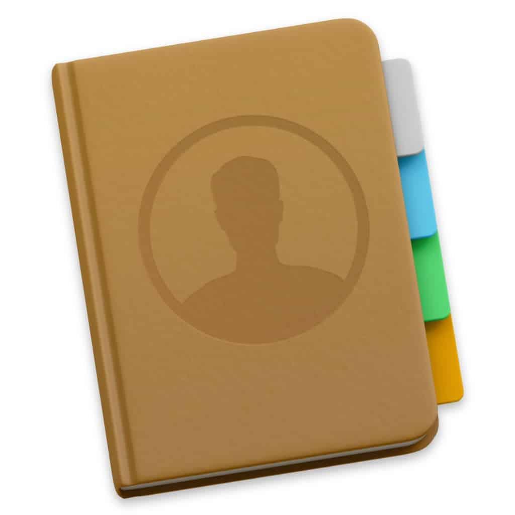 Personnaliser le carnet d'adresse de votre Mac