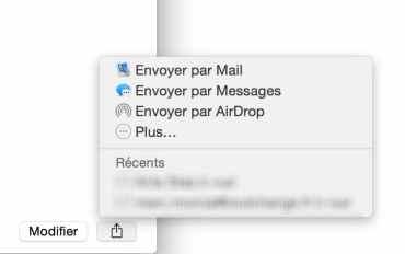 Comment envoyer un contact par Mail 2