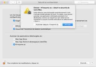 Impossible d'ouvrir « Install.pkg », car cette app n'a pas été téléchargée à partir du Mac App Store4