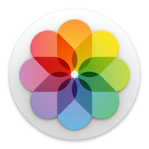 Réduire une photo dans le logiciel Photos sur Mac