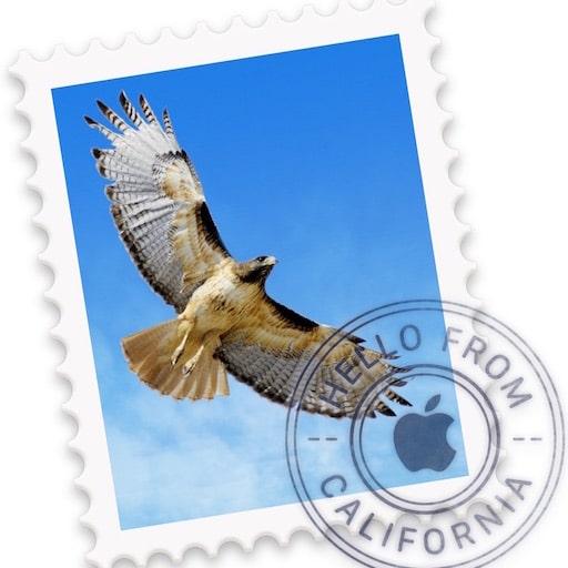 Envoyer une photo par mail sur Mac
