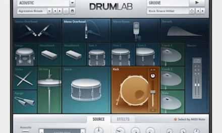 Mixage du Plug in Native DrumLab en multisorties dans Logic pro