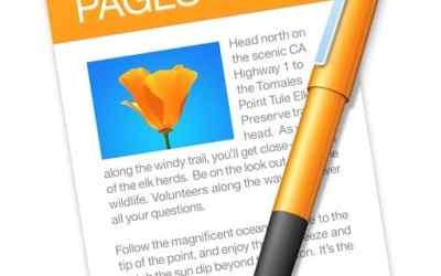 Logiciel indispensable sur Mac iPhone et iPad: Pages