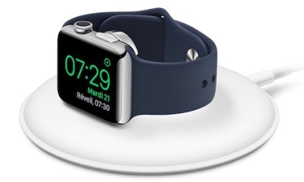 Le chargeur sans fil Apple pour Apple Watch