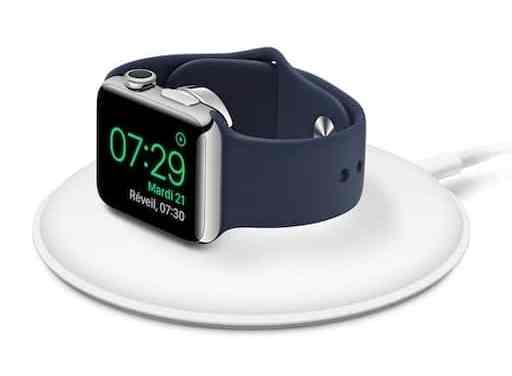 Le chargeur sans fil Apple pour Apple Watch