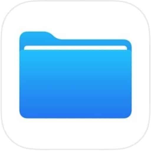 Nouveauté iOS 11: l'application Fichiers