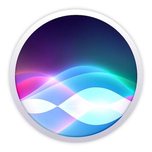 Commander Siri au clavier sur Mac
