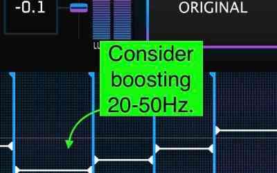 Comment obtenir la quantité parfaite de fréquences basses quand on masterise un mixage audio