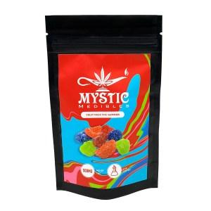 Mystic Medibles Fruit Pack THC Gummies (500mg)
