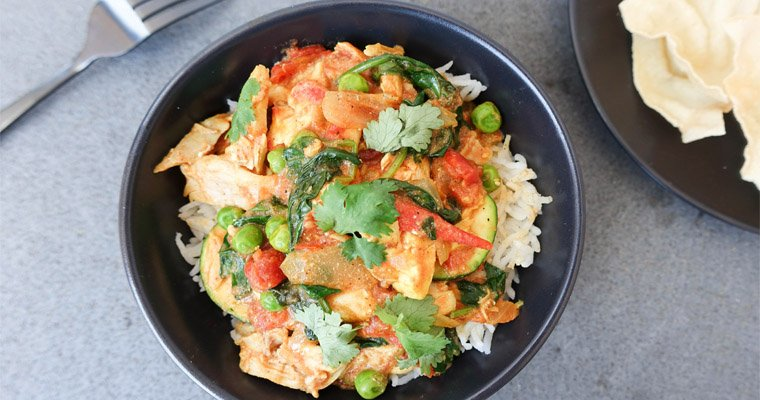 Chicken Curry in a Hurry – Healthy & Delicious 20 Minute Meal