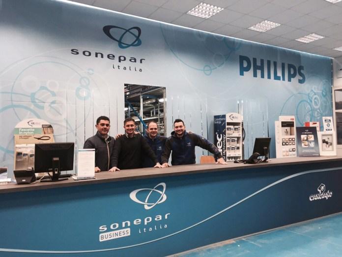 Uno dei punti vendita di Sonepar