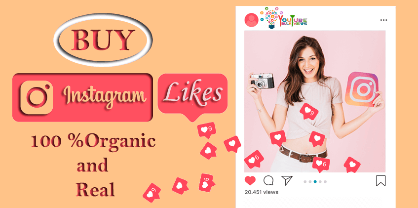 Buy Instagram Likes  100 Organic and Real  YouTube Bulk