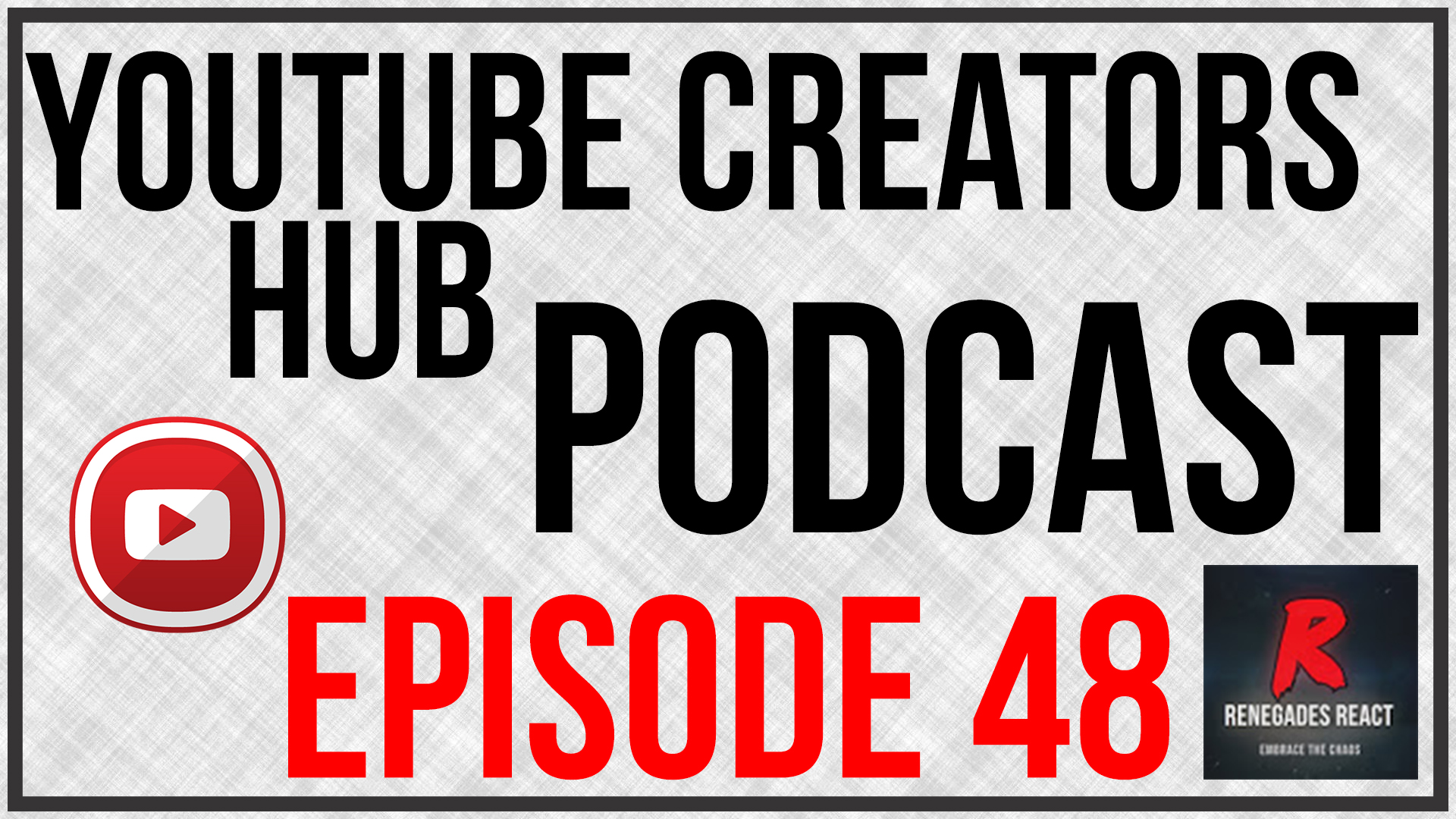 YouTube Creators Hub Podcast Episode 48