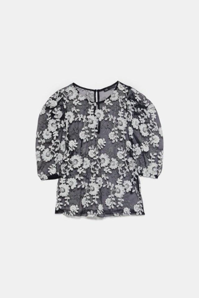 6717ec04a76 Zara: Η μπλούζα που θα αγοράσεις τώρα και θα την φοράς ... | Funky ...