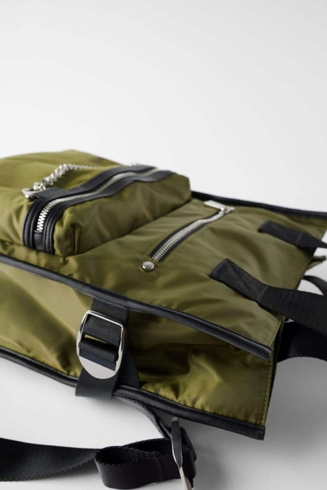 Zara: Αυτή είναι η μοναδική τσάντα από τη νέα συλλογή που θα βλέπεις παντού τον χειμώνα! Έχει λαδί χρώμα...