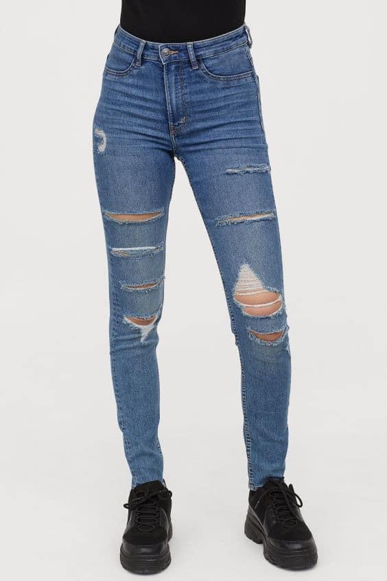 H&M τζιν παντελόνι