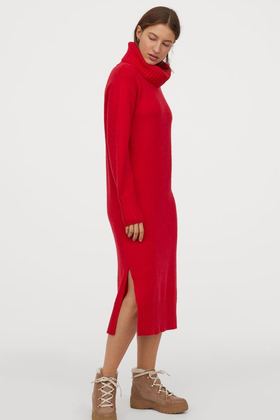 H&M maxi φόρεμα