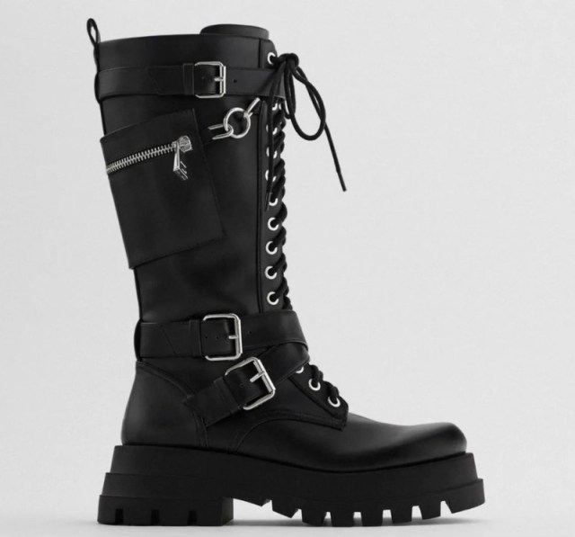 Zara μπότες