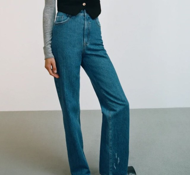 Zara τζιν παντελόνια