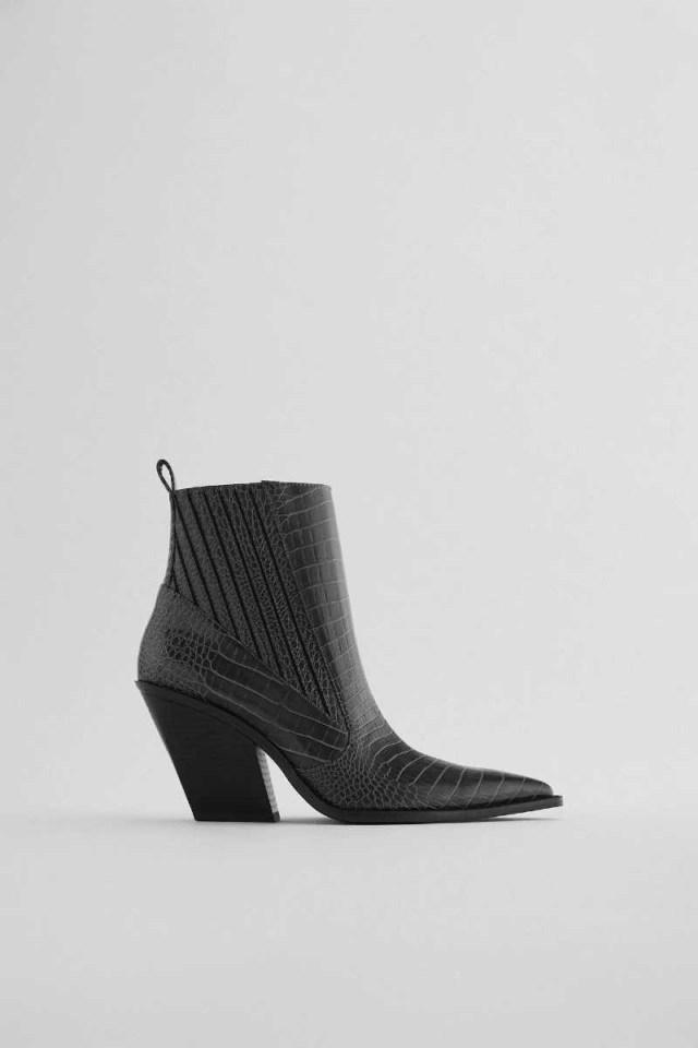 Zara cowboy μποτάκια