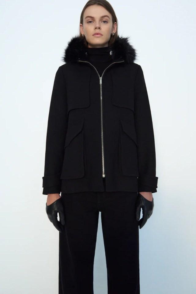 Zara γυναικείο παλτό έκπτωση