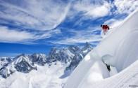 Alpler'de kayak