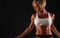 Seksi Modelden Karın Kası Egzersizi