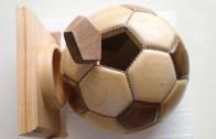 Tahtadan Futbol Topu Yapımı