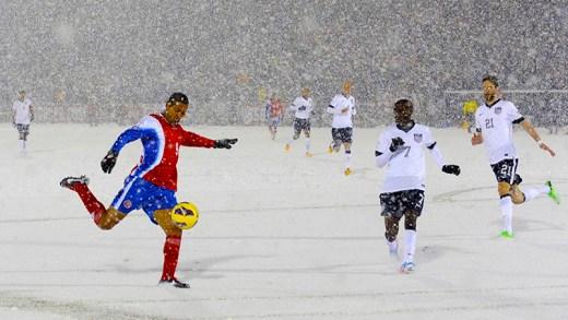 hava şartları ve futbol