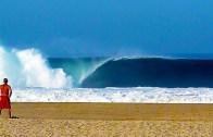 Meksika Kıyılarında Sörf Zamanı