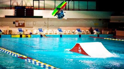 havuz wakeboard sporu