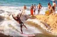 Nehrin Yatağını Değiştirerek Sörf Dalgası Elde Etmek!