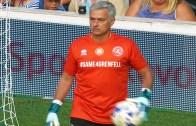 Mourinho Grenfell Gösteri Maçında Kalecilik Yaptı!